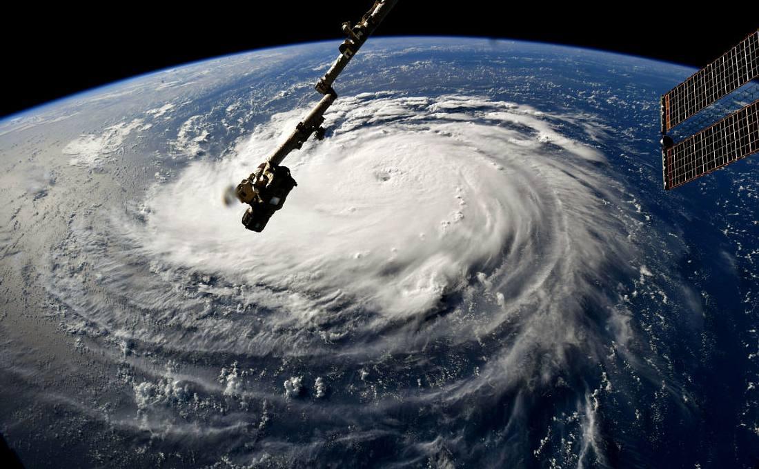 Hurricane Florence aus Sicht der ISS