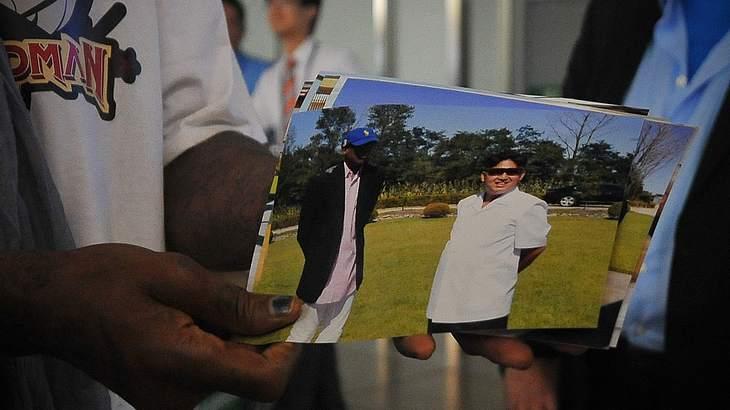 Rodman zeigt Fotos von sich mit Kim