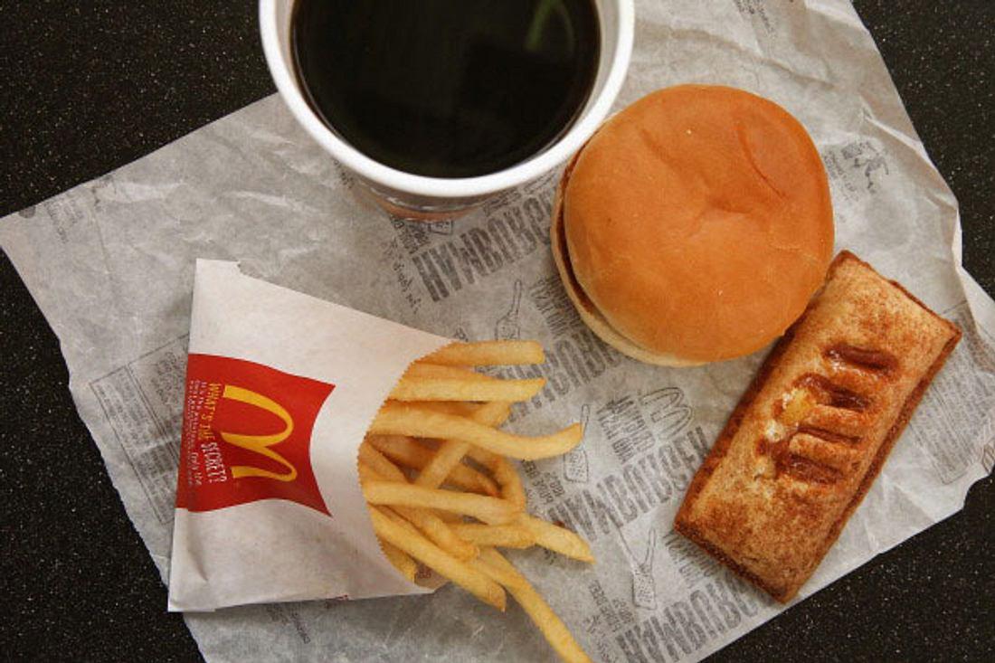 Ein Menü bei McDonald's