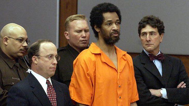 John Allen Muhammad bevor er zum Tode verurteilt wird