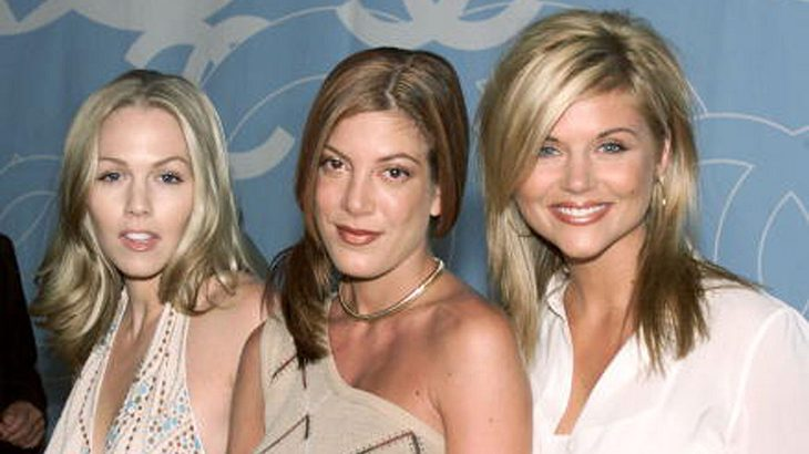 Jennie Garth, Tori Spelling and Tiffani Thiessen