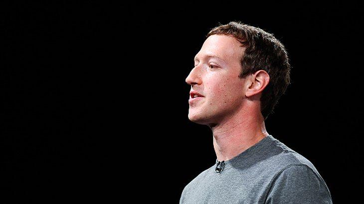 Er hat die Macht:Facebook-CEO Mark Zuckerberg