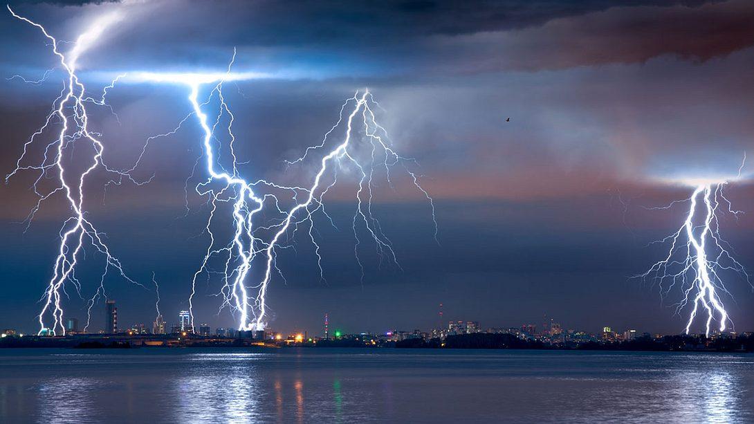 Achtung: Schwere Unwetter erwartet