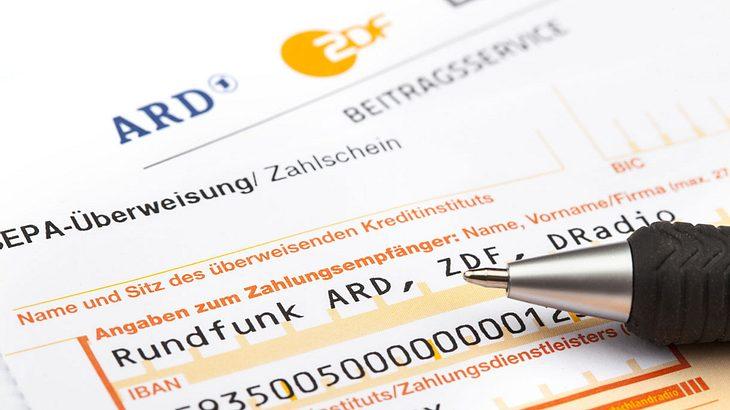 Der GEZ-Beitrag beträgt monatlich 17,50 Euro
