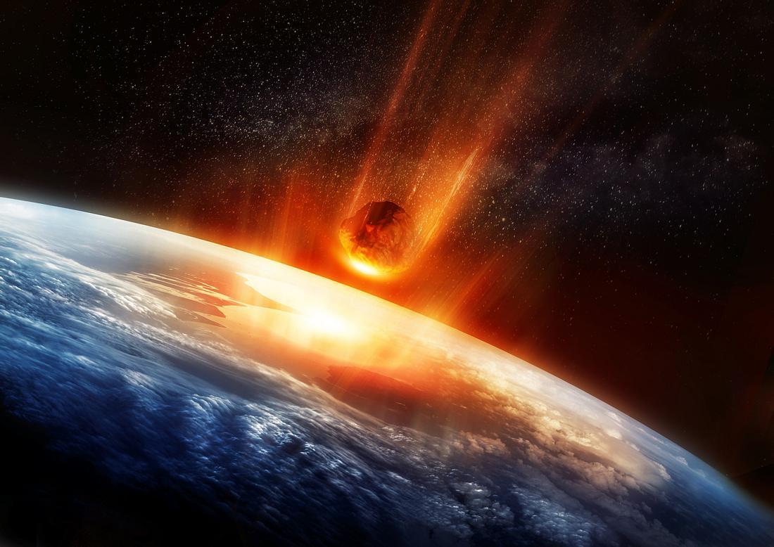 Asteroid rast auf Erde zu