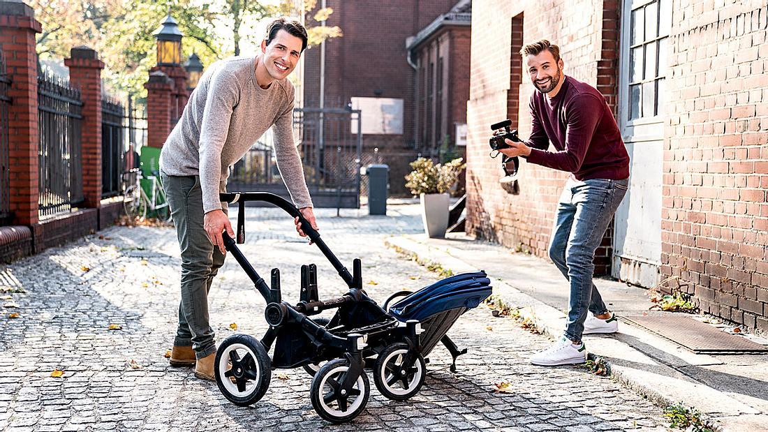 Die New Dads on the Blog der Gillette-Kampgne.