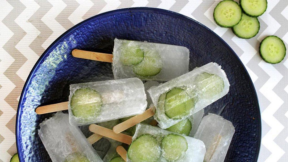 Gefrorene Promille: Gin Tonic als Eis am Stiel