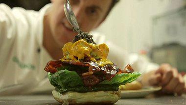 Glamburger: Der teuerste Burger der Welt aus London - Foto: Screenshot Vimeo/Honk Tonk