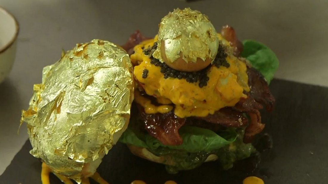 Glamburger: Der teuerste Burger der Welt aus London