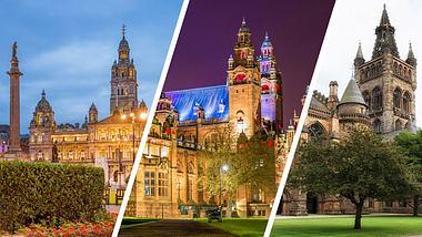 Glasgow - Foto: iStock / benedek / Leonid Andronov / atosan (Collage Männersache)