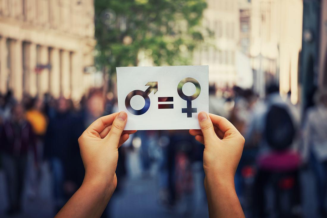 Gleichberechtigung zwischen Frau und Mann