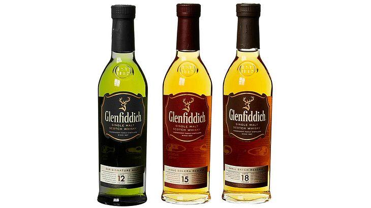 Glenfiddich Mix Pack 12 Jahre, 15 Jahre und 18 Jahre Single Malt Whisky