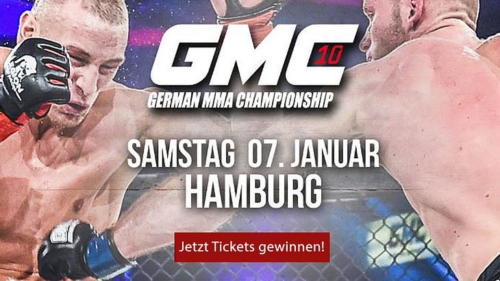Am 7. Januar 2017 findet sich die deutsche MMA-Elite zum GMC10 der German Fighting Championship in Hamburg an