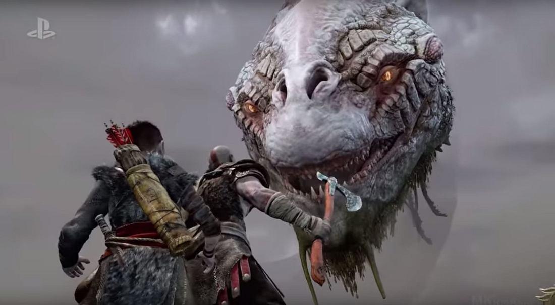 God of War: Sony hat einen neuen Gameplay-Trailer mit Kratos und Sohn in den Hauptrollen veröffentlicht
