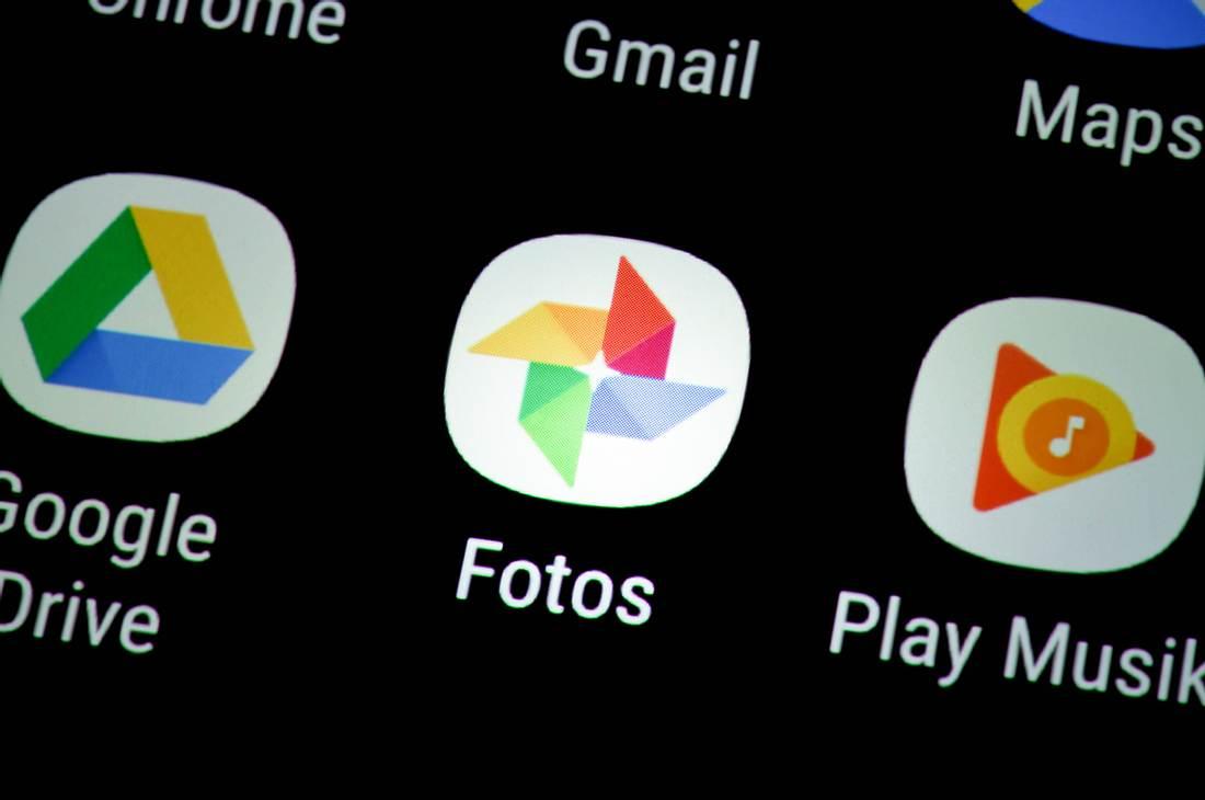 Google Fotos-App auf Smartphone