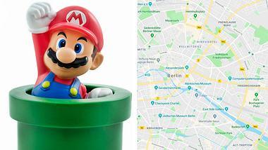 Google Maps: Mit Super Mario jetzt noch schneller das Ziel erreichen