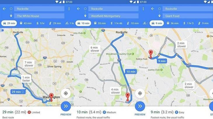 Mit einem neuen Maps-Feature will Google seinen Usern beim Einparken helfen