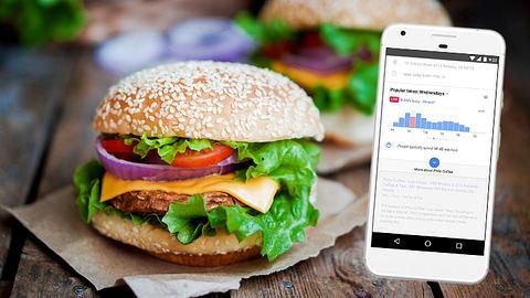 Google Maps sagt dir im Vorfeld, wie voll Restaurants sind