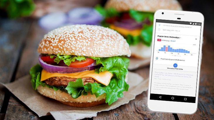 Google Maps sagt dir jetzt, wann du in deinem Lieblingsrestaurant nicht anstehen musst