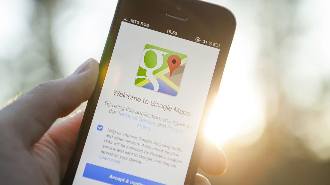 Zehn Orte, die Google Maps nicht zeigen darf