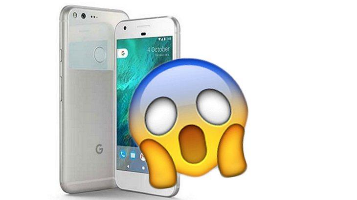 Google Phone Pixel geleakt