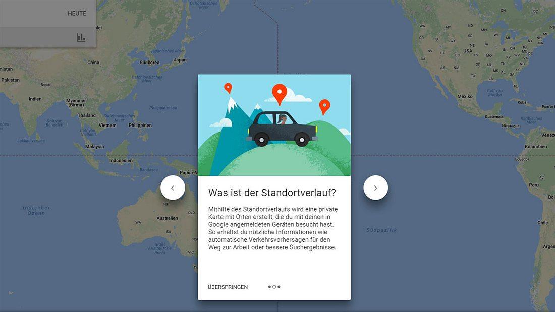 Wusstest du, dass Google deine Bewegungen aufzeichnet?