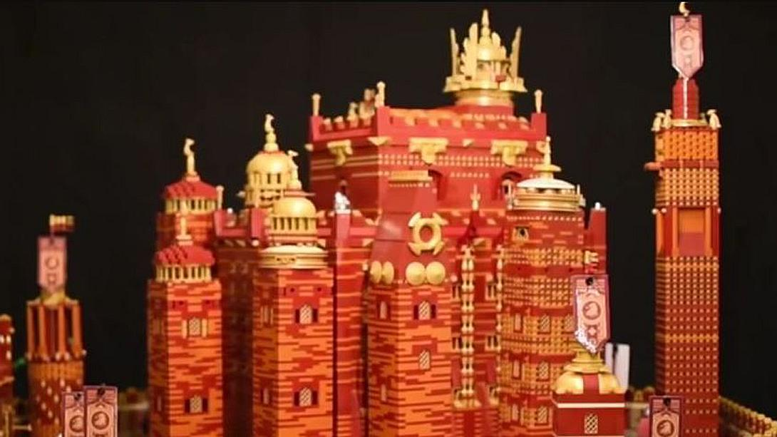 Red Keep aus LEGO: Game-of-Thrones-Fan Claus-Marc Hahn hat das Schloss aus der HBO-Kultserie nachgebaut - Foto: YouTube/BeyondTheBrick