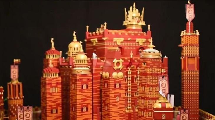 Red Keep aus LEGO: Game-of-Thrones-Fan Claus-Marc Hahn hat das Schloss aus der HBO-Kultserie nachgebaut