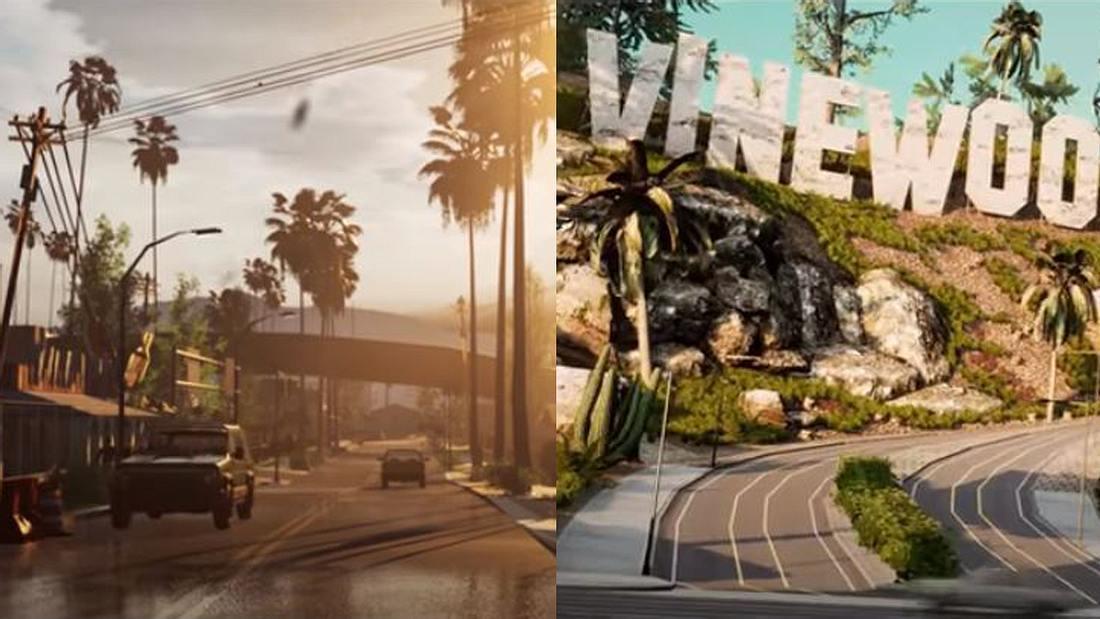 Grand Theft Auto: San Andreas mit Unreal Engine 4