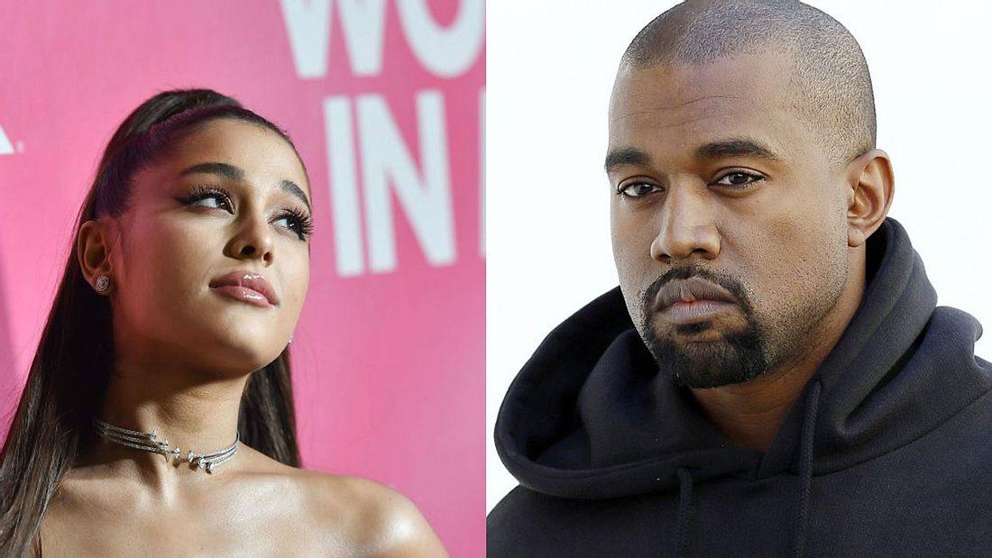 Ariana Grande und Kanye West haben Twitter-Zoff.