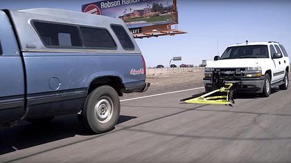 Der Grappler Police Bumper von Leonard Stock  - Foto: YouTube/GrapplerPolice umper
