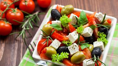 Griechischer Salat - Foto: iStock/kajakiki
