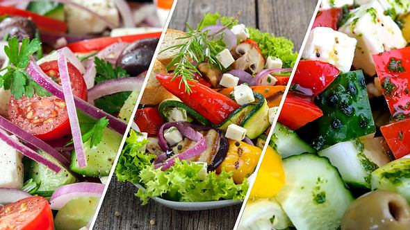 Griechischer Salat: Die besten Rezepte für Bauernsalat und Co.