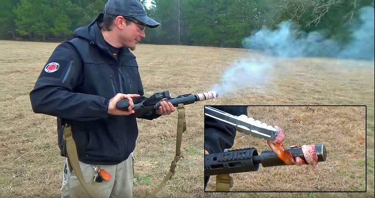 American BBQ: Grillen mit dem Sturemgewehr