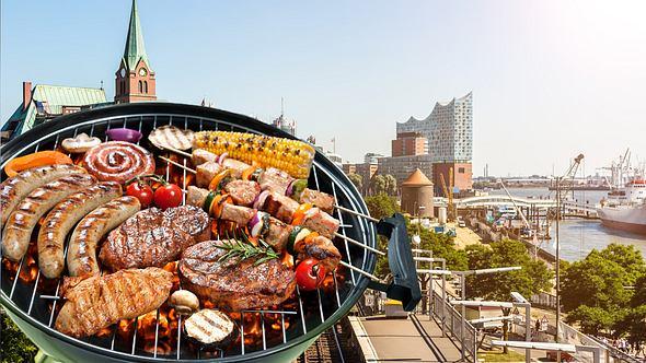 Grillen in den schönsten Parks in Hamburg - Foto: iStock / querbeet, AlexRaths