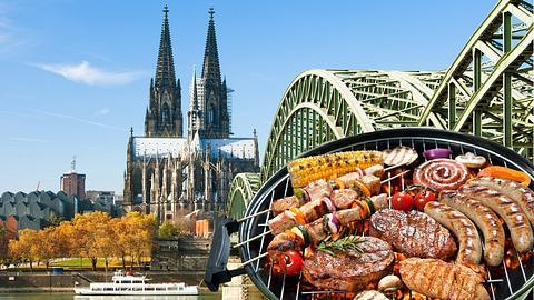 Die schönsten Grillplätze in Köln