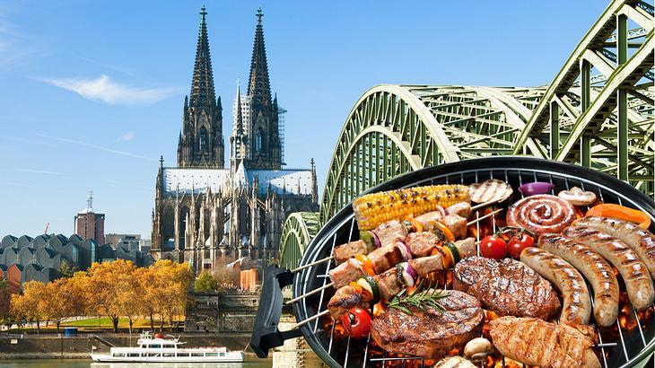 Grillen in Köln