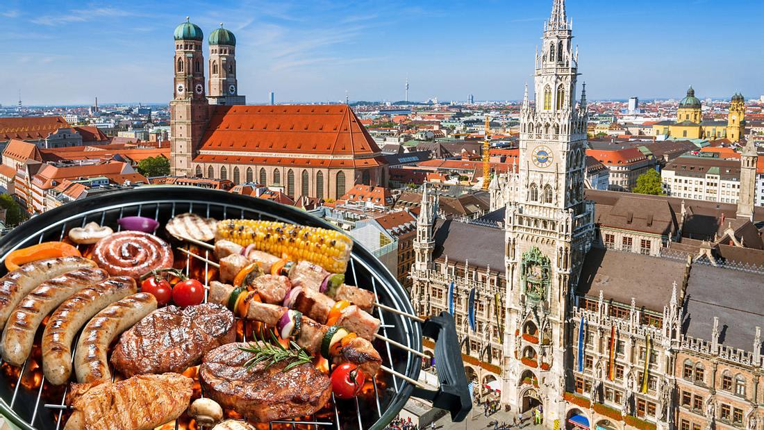 Das sind die schönsten Grillplätze in München