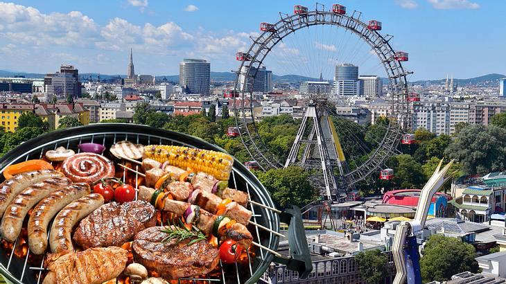Grillen in Österreichs Hauptstadt Wien