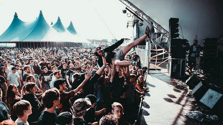 Groezrock: Ein belgisches Rock-Festival der Superlative