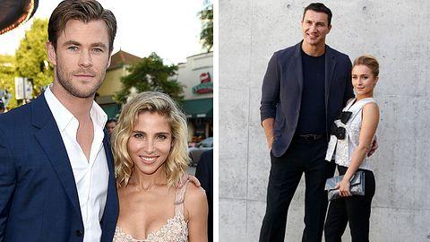 Chris Hemsworth und Wladimir Klitschko mit Frauen - Foto: Getty Images / Kevin Winter_Vittorio Zunino Celotto