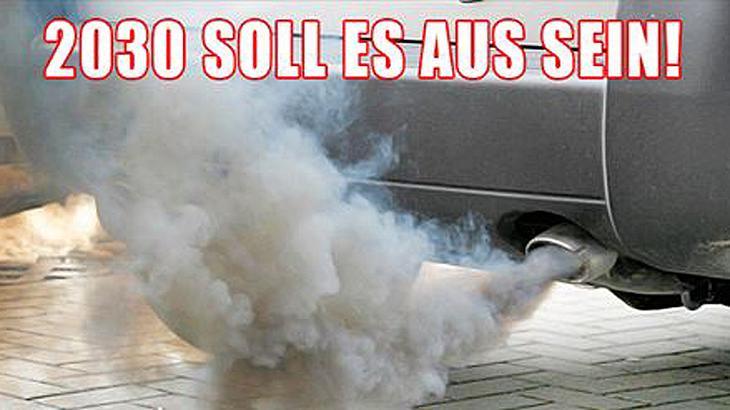 BÜNDNIS 90/DIE GRÜNEN fordern Diesel- und Benzinverbot ab 2030