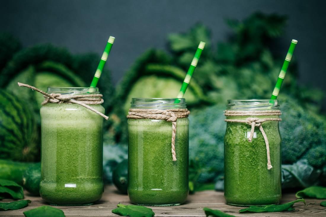 Grünkohl-Smoothies für den gesunden Kick