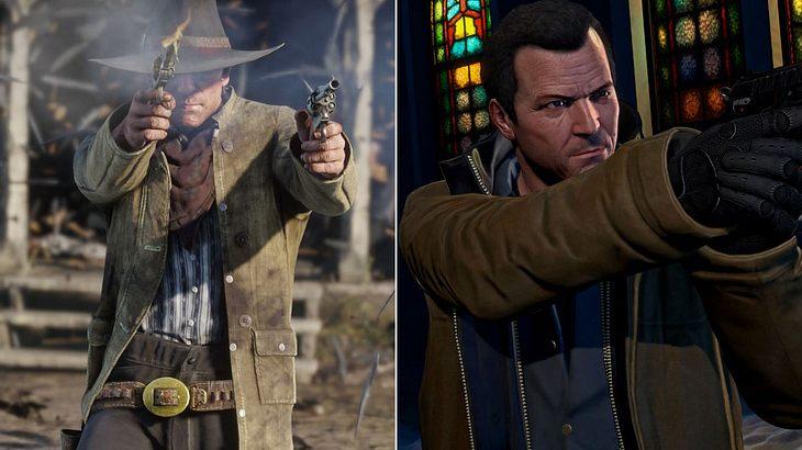 Michael aus GTA versteckt sich irgendwo in Red Dead Redemption 2