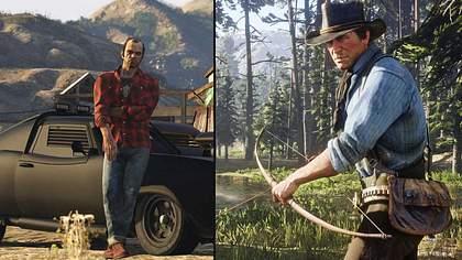 GTA V und Red Dead Redemption 2 - Foto: Rockstar Games