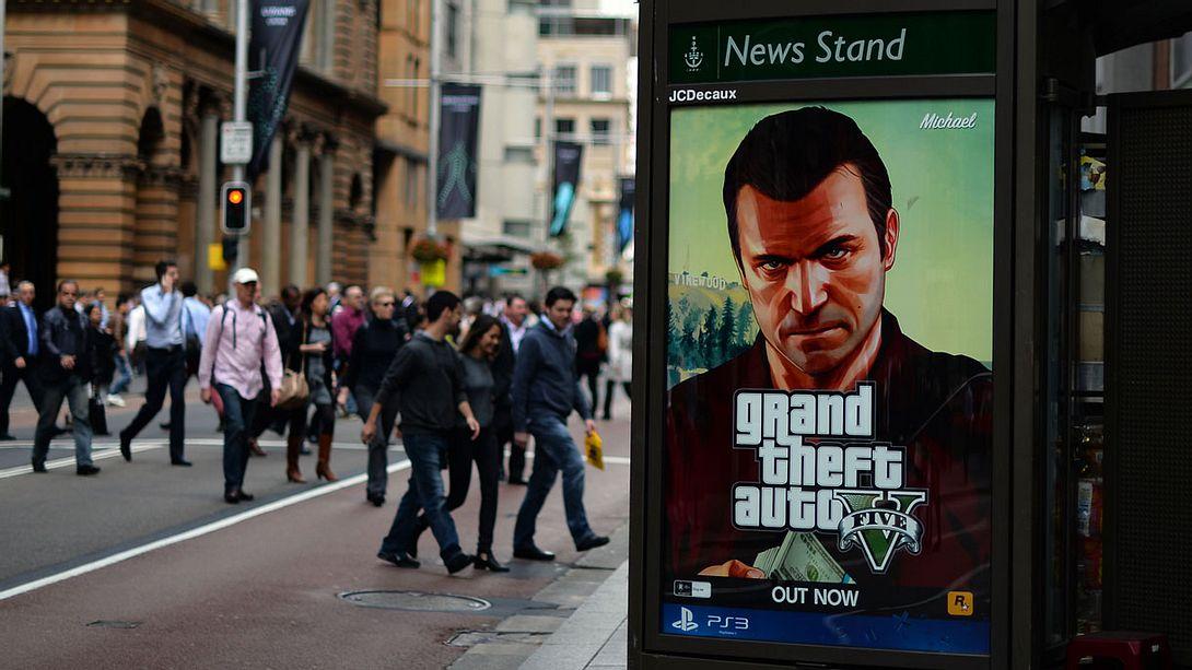 Grand Theft Auto 5 ist das bestverkaufte Spiel aller Zeiten - Foto: SAEED KHAN/getty images