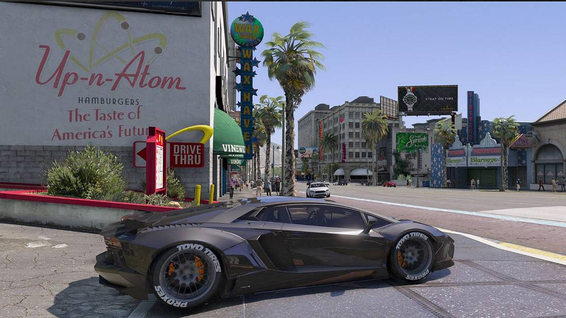 Der GTA5-Mod NaturalVision