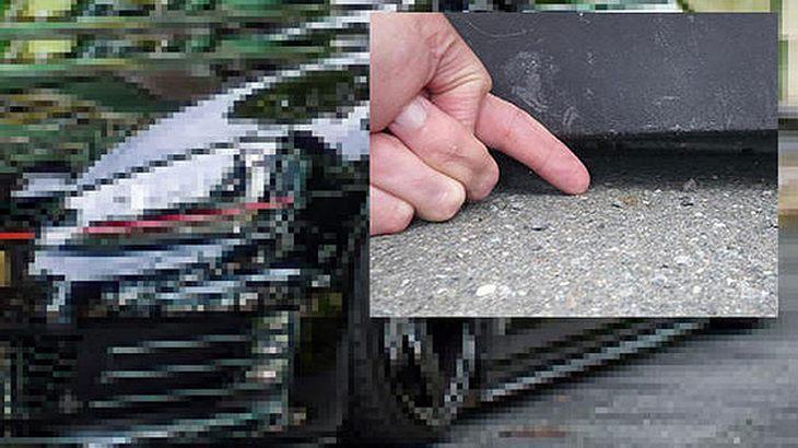 Golf GTI mit 1,5 Zentimetern Bodenfreiheit