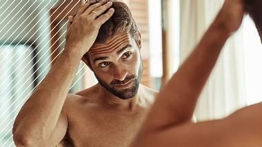 Haarausfall bei Männern  - Foto: iStock/PeopleImages