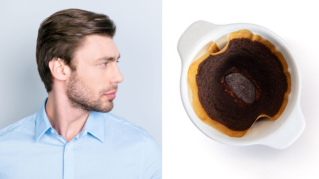 Kaffeesatz auf die Haare auftragen?